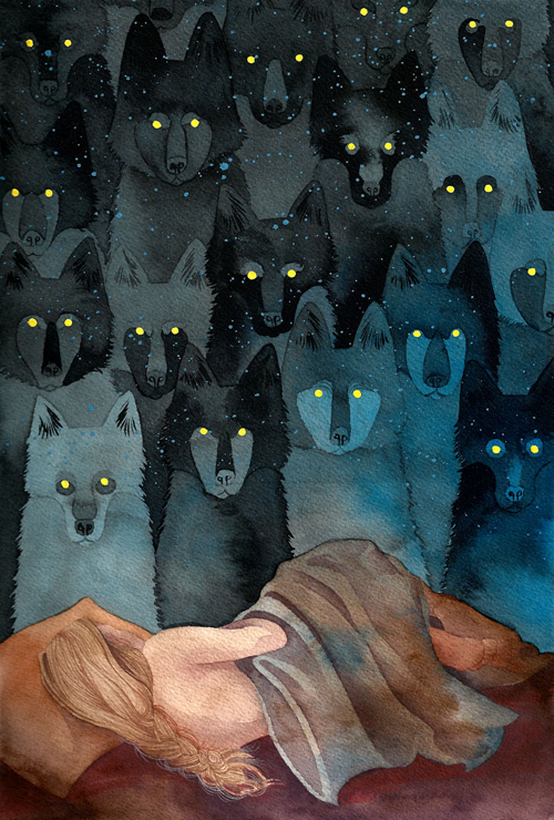 In the Company of Wolves, by Caitlin Clarkson