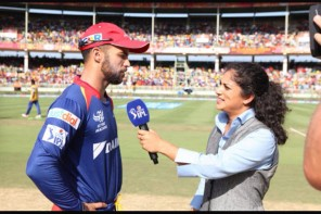 Lisa Sthalekar during the IPL. Photo courtesy Lisa Sthalekar Facebook page.
