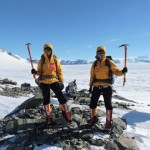 Tashi and Nungshi on Mt Vinson, Antarctica in December 2014. (1)