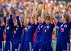 Japan after their 2-1 victory in the semi-finals against England on June 30. Just like the 2011 World Cup, they'll be facing USA in the finals. All photos courtesy FIFA Women's World Cup Facebook page.