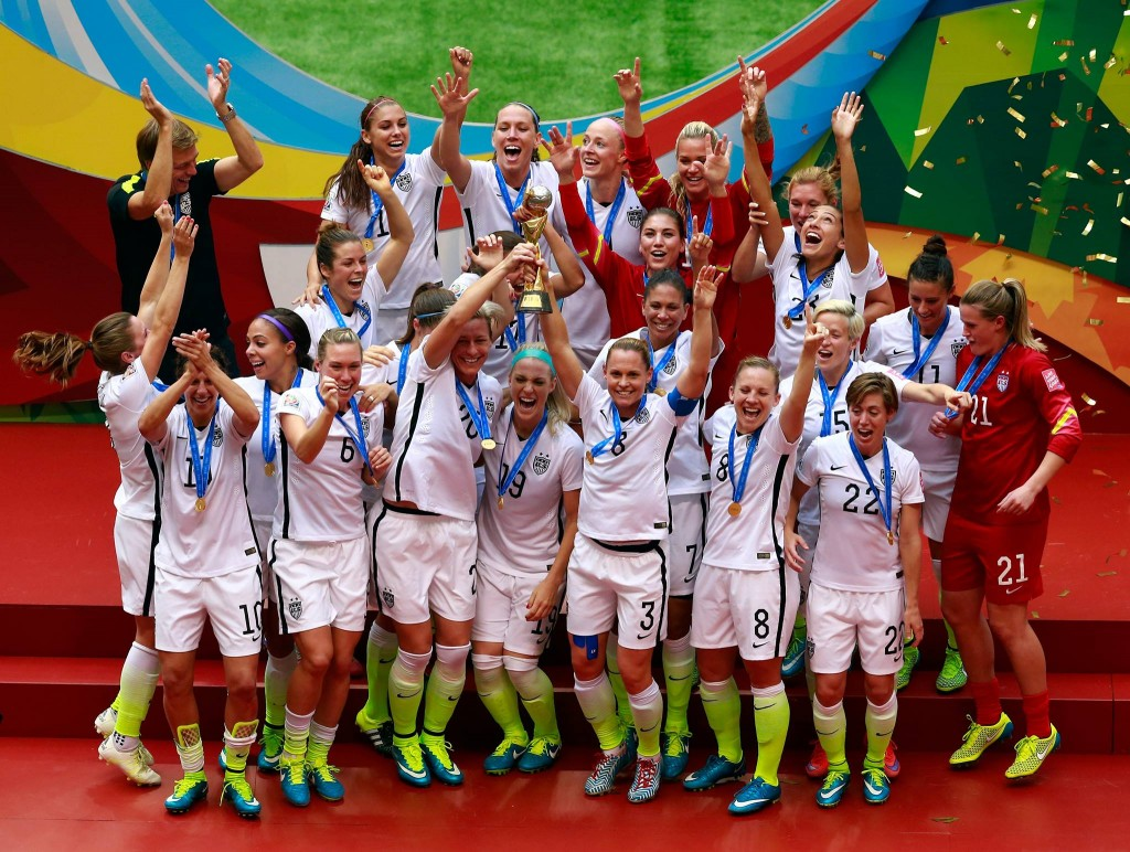 The USA, which had won the Women's World Cup twice before today, last had a finals victory in 1999.