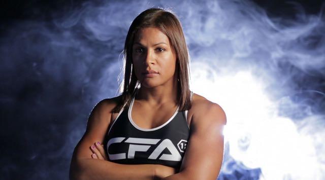 Picture of transgender athlete Fallon Fox.