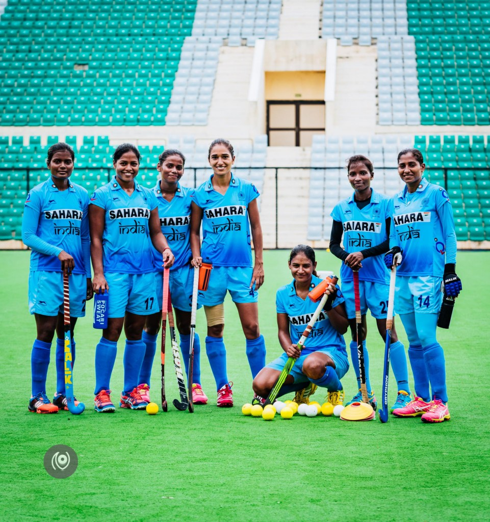 Indian women's hockey team.