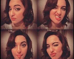 Sonakshi Sinha's selfies