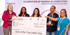 WEQ prize winning ceremony