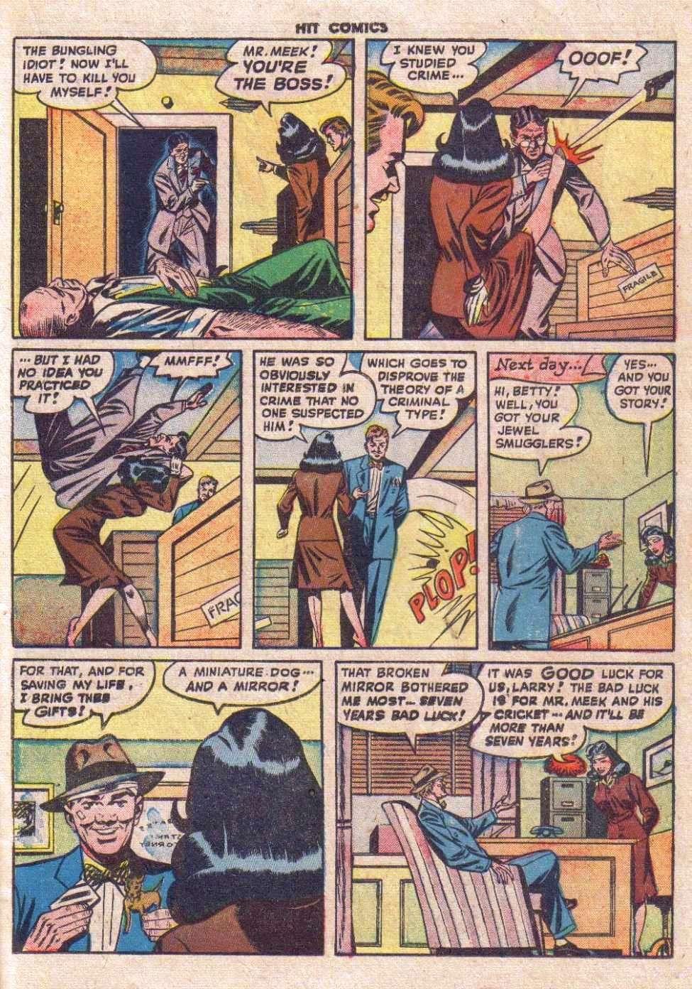 Betty Bates Comic Strip