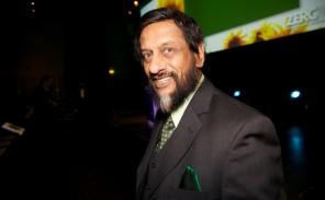 Dr. Rajendra Pachauri, Leder av FNs klimapanel (IPCC).ZERO- konferansen arrangeres av den norske miljøstiftelsen Zero Emission Resource Organization (ZERO).
