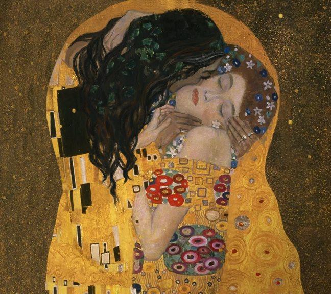 GR Gustav Klimt's Kiss