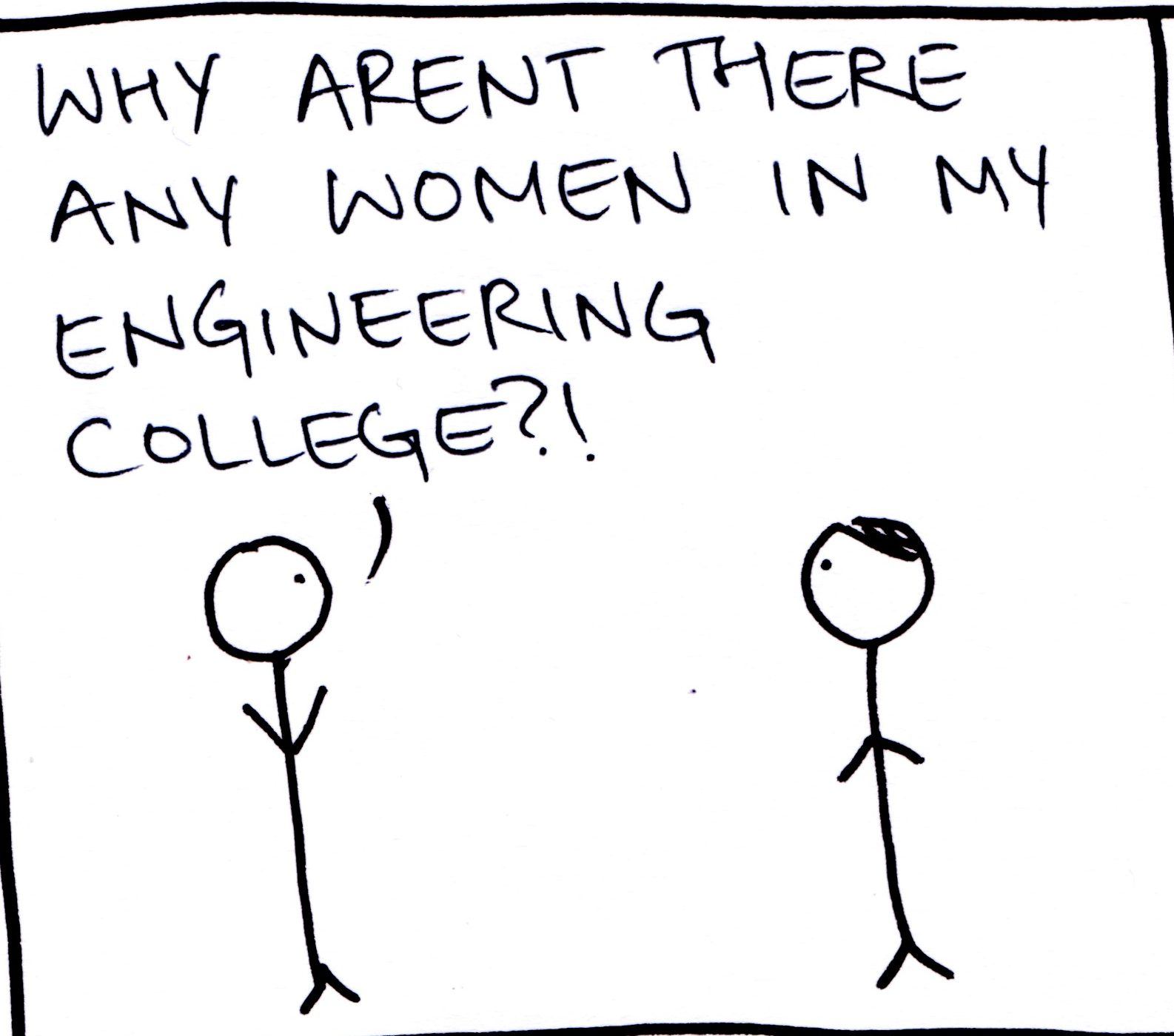 what we learnt about women in engineering colleges