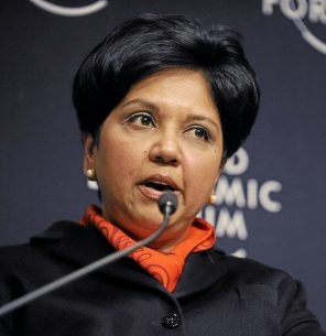 DAVOS/SWITZERLAND, 28JAN10 -  Indra Nooyi, Chairman and Chief Executive Officer, PepsiCo, USA; Member of the Foundation Board of the World Economic Forum; Global Agenda Council on the Role of Business is captured during the session 'State Leadership: An Opportunity for Global Action' at the Congress Centre at the Annual Meeting 2010 of the World Economic Forum in Davos, Switzerland, January 28, 2010.  Copyright by World Economic Forum  swiss-image.ch/Photo by Michael Wuertenberg