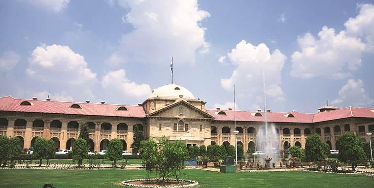 Allahabad High Court Building *** Local Caption *** Allahabad High Court Building. Express Archive photo