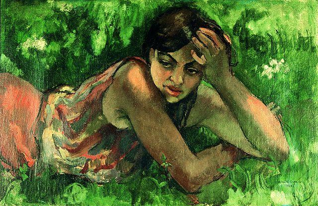 640px-Amrita_Sher-Gil_Hungarian-gypsy-girl