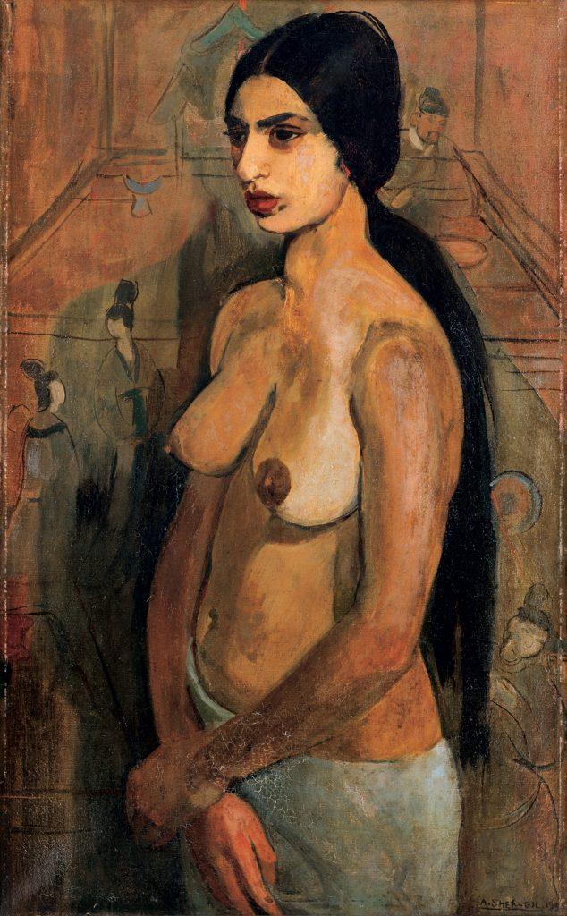 Amrita_Sher-Gil_Standing_Nude