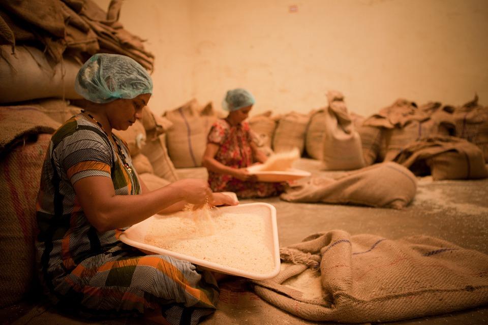 Women Working Food Industry India Mangalore Work