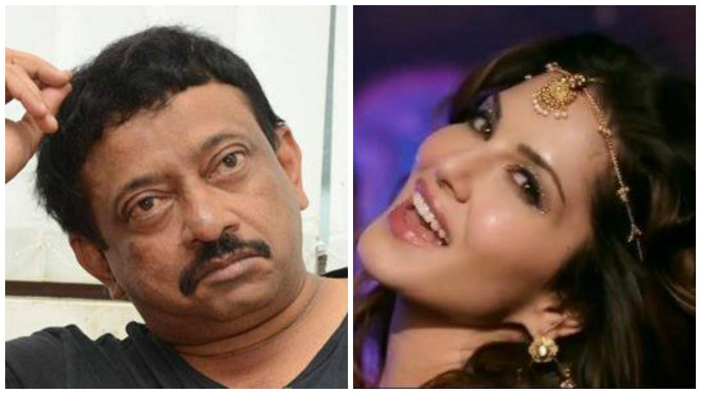 Sunny Leone Ram Gopal Varma