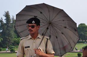 Policeman India Delhi