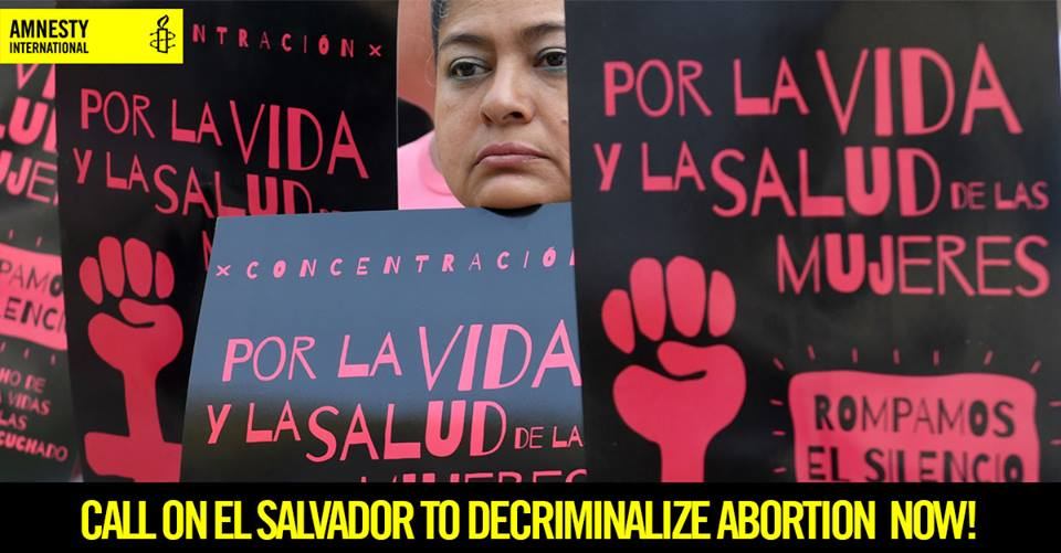 El Salvador: Rape survivor sentenced to 30 years in jail under extreme anti-abortion law