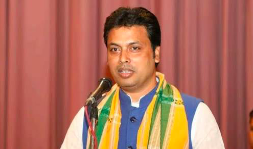 Twitteratis Slam Tripura CM Biplab Deb Over His Remarks On Diana Hayden